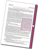 Download Passover | Pesach Study sheet